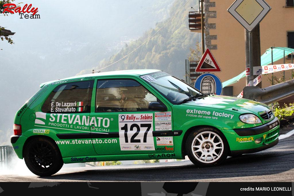 Rally Team, Due Valli batte Sebino